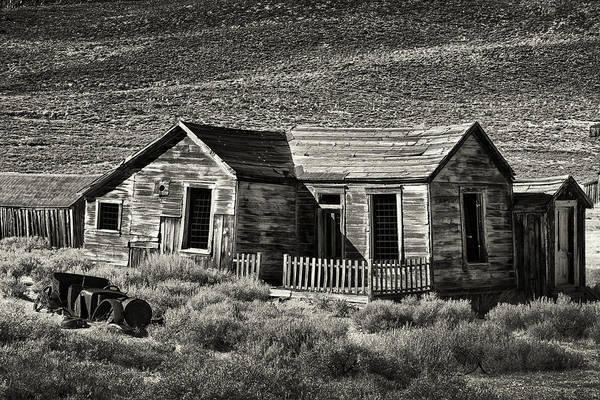 Bodie Ghost Town Wall Art - Photograph - Ghost Town by Robert Fawcett