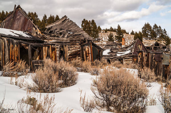 Photograph - Ghost Town by Sue Smith