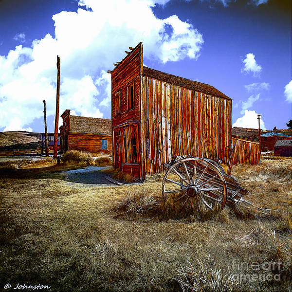 Silver And Gold Digital Art - Ghost Towns In The Southwest by Bob and Nadine Johnston