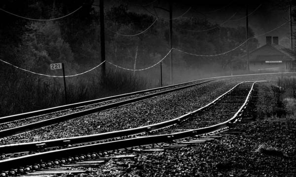 Wall Art - Photograph - Ghost Tracks by Thomas Young