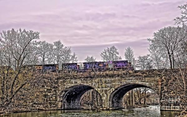 Photograph - Ghost Train by Jim Lepard