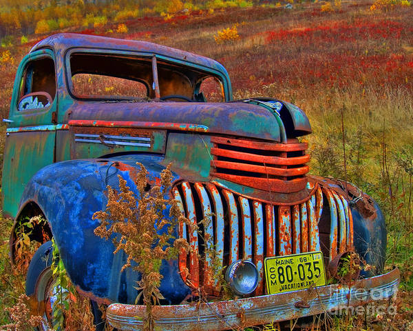 Photograph - Ghost Truck by Alana Ranney