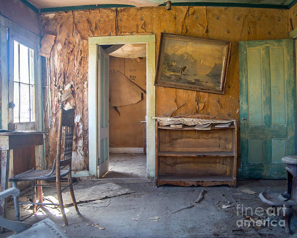 Bodie Ghost Town Wall Art - Photograph - Ghost Writer by Stephen Whalen