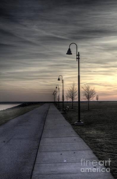 Photograph - Ghostly Walkway by Jim Lepard