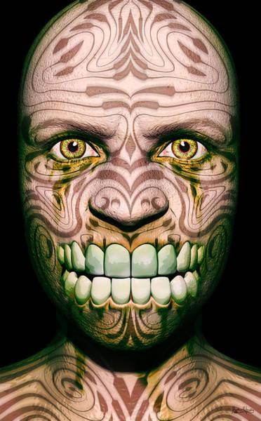 Digital Art - Ghoul by Matt Lindley
