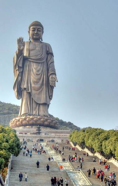 Giant Buddha Art Print