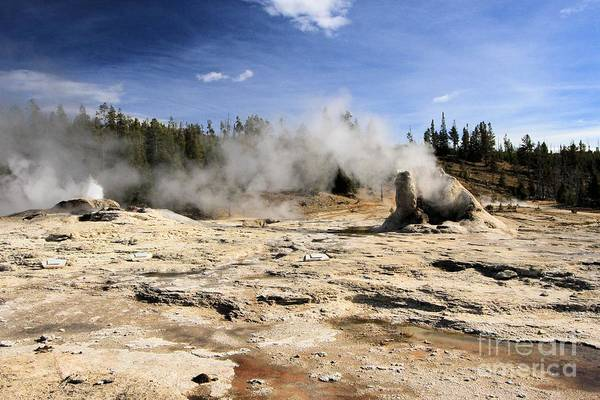 Inactive Photograph - Giant Geyser Group by Adam Jewell