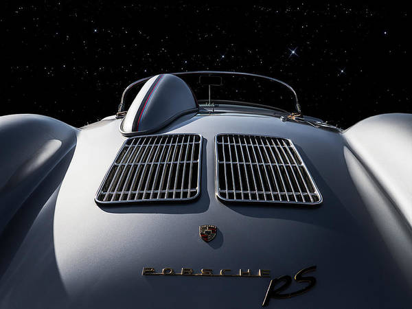 Roadster Wall Art - Digital Art - Porsche 550 Spyder by Douglas Pittman