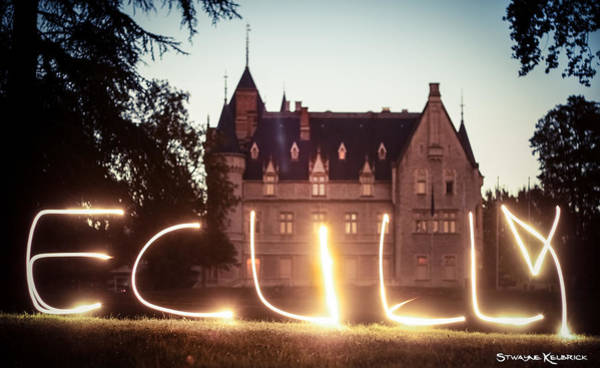 Photograph - Giant Light Painting by Stwayne Keubrick