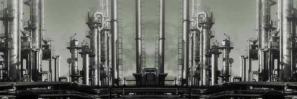 Wall Art - Photograph - Giant Oil And Gas Insutry by Christian Lagereek