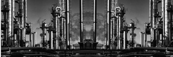 Wall Art - Photograph - Giant Oil And Gas Panoramic by Christian Lagereek