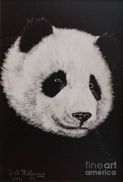 Painting - Giant Panda by Bob Williams