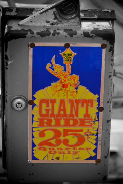 Photograph - Giant Ride 25 by Beth Sawickie