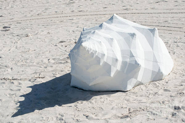 Clarence Photograph - Giant Shell Sculpture 2  - Key West  by Ian Monk
