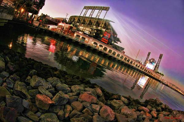 Photograph - Giants Att Park Twilight by Blake Richards
