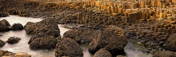 Geologic Formation Photograph - Giants Causeway, Antrim Coast, Northern by Panoramic Images