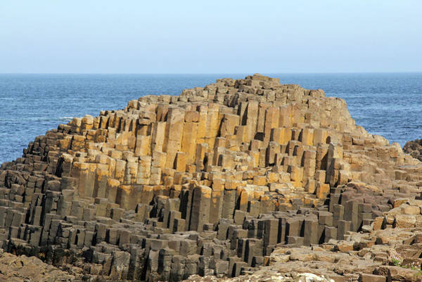County Antrim Wall Art - Photograph - Giants Causeway Rock Formation by Daniela Duncan