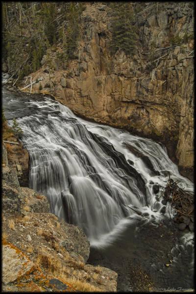 Photograph - Gibbon Falls by Erika Fawcett