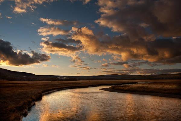 Montana Photograph - Gibbon River Yellowstone by Steve Gadomski