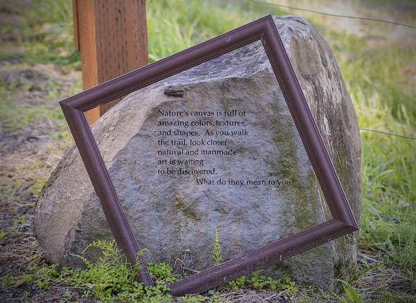 Photograph - Gibbons Creek Art Trail by Loree Johnson