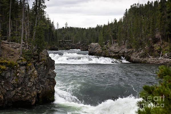 Photograph - Gibbons River - Yellowstone by Belinda Greb