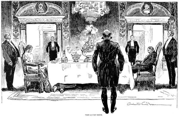 Photograph - Gibson: Lucky Rich, 1896 by Granger