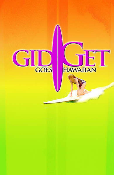Wall Art - Digital Art - Gidget Goes Hawaiian by Ron Regalado