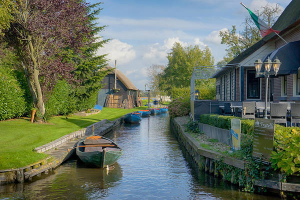 Photograph - Giethoorn by Uri Baruch