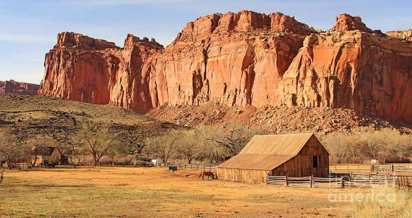 Fruita Photograph - Gifford Farmhouse And Barn In Fruita Utah 2710 by Jack Schultz