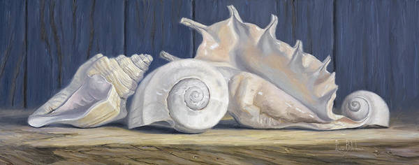 Painting - Gift From The Ocean by Lucie Bilodeau