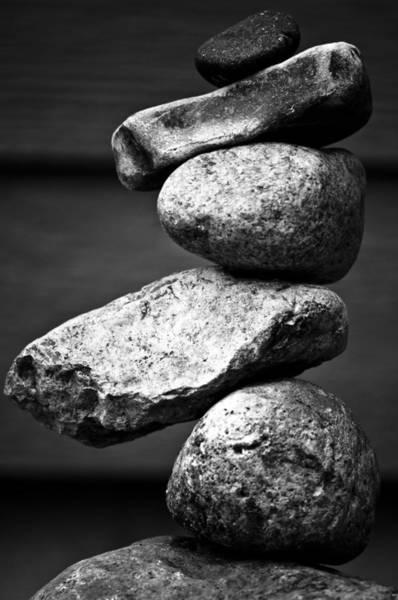 Balancing Rocks Photograph - Gift Of Autumn by Matthew Blum