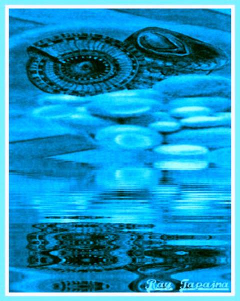 Mixed Media - Gifts From The Sea by Ray Tapajna