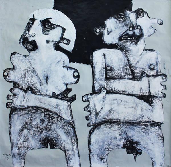Wall Art - Painting - Gigantes No. 4 by Mark M  Mellon