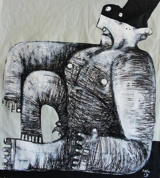 Wall Art - Painting - Gigantes No. 5 by Mark M  Mellon