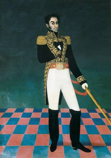 La Libertad Photograph - Gil De Castro, Jos� 1785-1841. Portrait by Everett