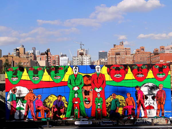 Wall Art - Photograph - Gilbert And George - Waking by Ed Weidman