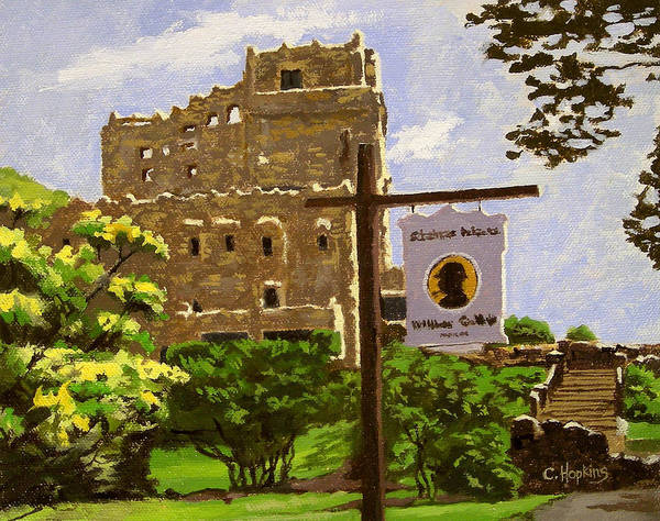 Wall Art - Painting - Gillette Castle East Haddam Connecticut by Christine Hopkins