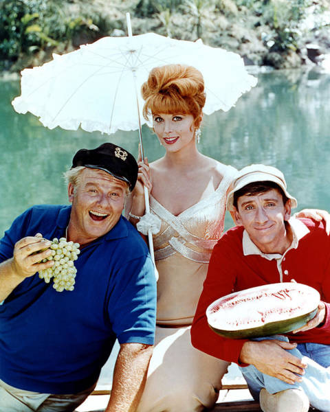 Wall Art - Photograph - Gilligan's Island  by Silver Screen