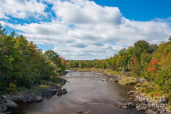 Brook Photograph - Gilpatrick Brook Maine  by Michael Ver Sprill