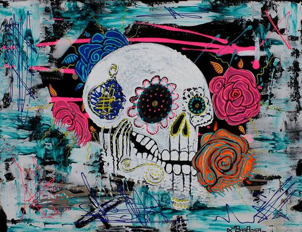 Wall Art - Painting - Gimme Some Sugar Baby by Laura Barbosa