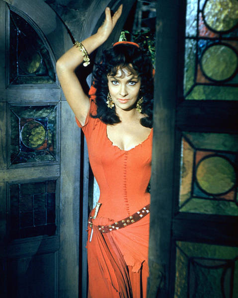 Gina Wall Art - Photograph - Gina Lollobrigida In Solomon And Sheba  by Silver Screen