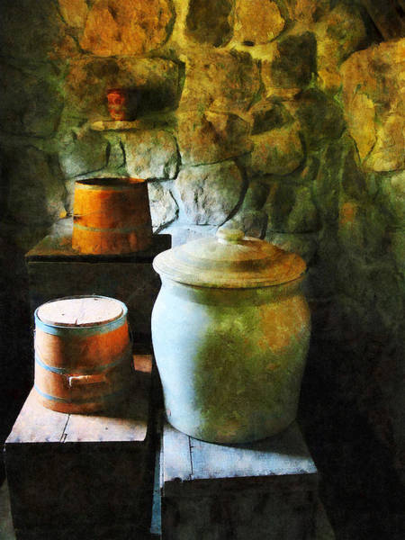 Photograph - Ginger Jar And Buckets by Susan Savad