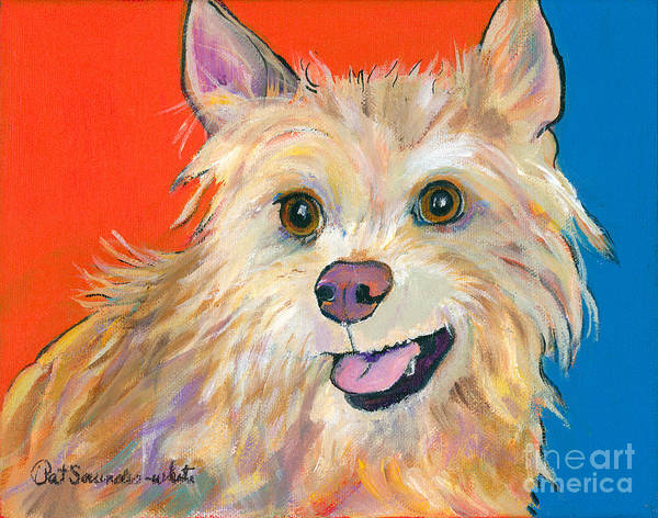 Painting - Ginger by Pat Saunders-White