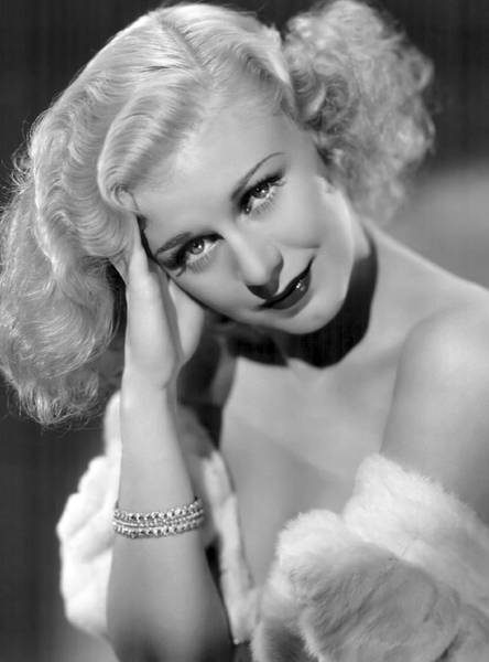 Leading Actress Wall Art - Photograph - Ginger Rogers by Daniel Hagerman