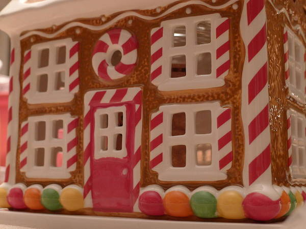 Photograph - Gingerbread House by Richard Reeve