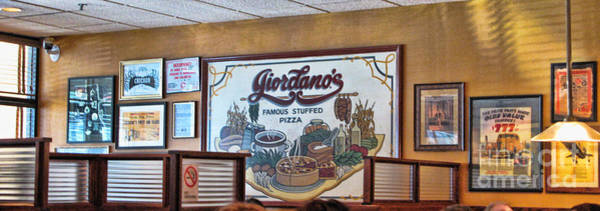 Pizza Photograph - Giordanos Pizza Chicago by Jack Schultz