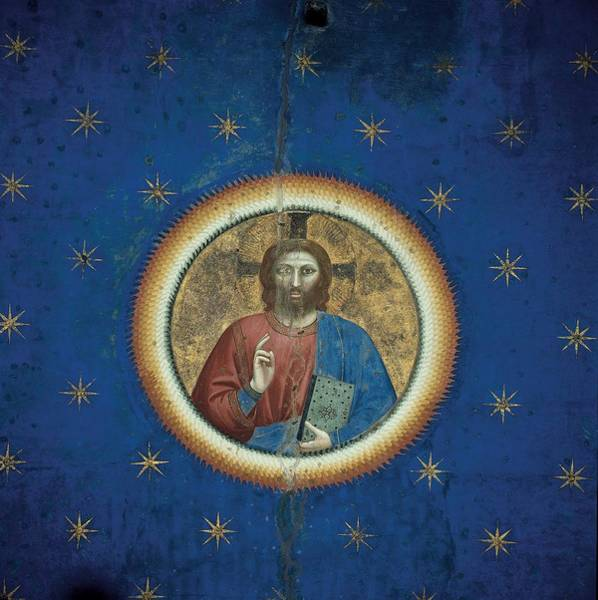 Pantocrator Photograph - Giotto, Fresco Cycle In The Scrovegni by Everett