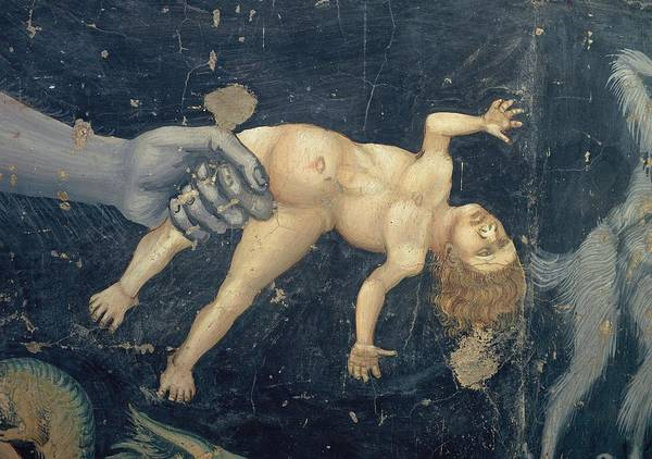 Kidnap Wall Art - Photograph - Giotto, The Last Judgement, 1303 - by Everett