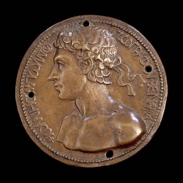 Bold Drawing - Giovanni Boldù, Self-portrait Obverse by Litz Collection