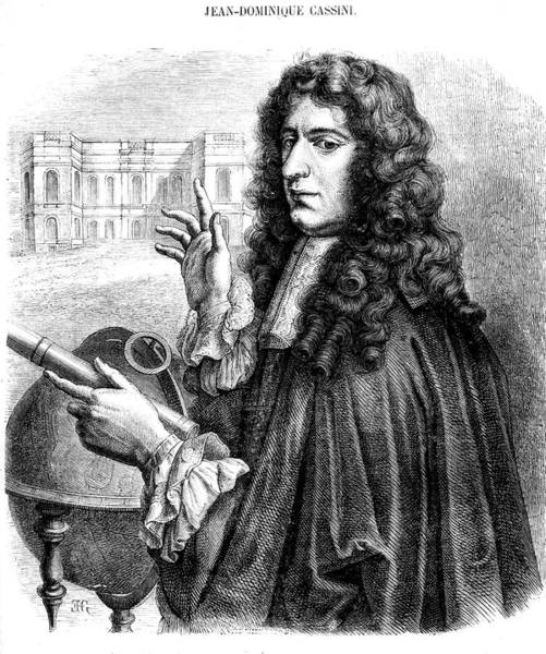 1889 Photograph - Giovanni Cassini by Collection Abecasis